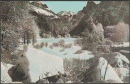 Winter Scene, Yosemite Valley, California, C.1910 - Denison News Co Postcard - Yosemite