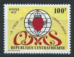 Centrafrique YT 165 XX / MNH Santé Health - Centrafricaine (République)
