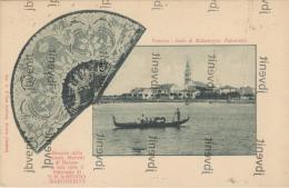 Isola Di MALAMOCCO (Venezia) - Panorama -  Scuola Dei Merletti/ Laces / Dentelle Di Burano - Venezia