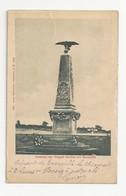 57 REZONVILLE - Monument Aux Morts - Brigade Bredow - Cpa Moselle - Otros Municipios