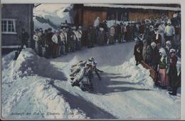 Ankunft Der Bob In Klosters - Am Ziel - Photo: J. Tomaszewski - GR Grisons