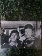 Carte Dédicaces La Grande Vadrouille Bourville De Funes - Autographes