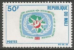 Mali - 1969 African Tourism 50f MNH **   Sc 113 - Mali (1959-...)