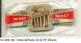 Vitolas NIC. Vistas De Rusia. Ref. 14-1436 - Vitolas (Anillas De Puros)