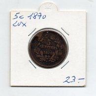 Lussemburgo - 1870 - 5 Centesimi - Vedi Foto - (FDC9574) - Lussemburgo