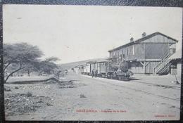 Ethiopie Dirre Daoua Interieur Gare Loco Cpa - Ethiopia