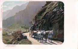 Alpenpost, Diligence,  Attelage De 5 Chevaux (9103) - Poste & Facteurs
