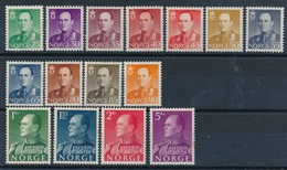 BI-664:NORVEGE: Lot Avec N °381/389* (manque 390 Pour La Série Compléte) - Norvège