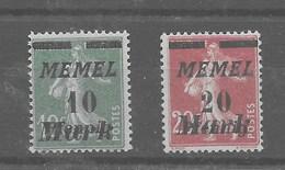 Serie De Memel Nº Michel 108/09 ** - Klaipeda