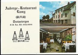 Troisvierges Auberge Restaurant Lamy Gastraum - Troisvièrges