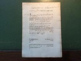 1746 BEAUVOIR SUR MER (79 Vendée)> Chatillon (75)recu Postal (lettre Cheval France Malle Postale - Marcophilie (Lettres)