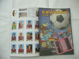 ALBUM PANINI CALCIATORI LA RACCOLTA COMPLETA 1990-1991 GAZZETTA DELLO SPORT - Edizione Italiana
