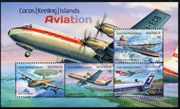 Cocos Islands (Australia) 2017 - Aviation, Avions Divers  - BF Neuf // Mnh - Cocos (Keeling) Islands