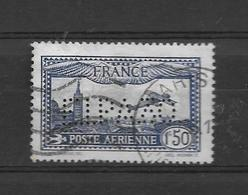 FRANCE POSTE AERIENNE AN 1930 AVION SURVOLANT MARSEILLE TAILLE/DOUCE YVERT TELLIER NR. 6a Outremer - Luftpost