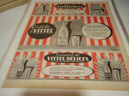 ANCIENNE PUBLICITE FIDELE A L EAU VITTEL 1955 - Posters