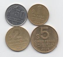 Paraguay : Série De 4 Pièces 1998-2008 - Paraguay
