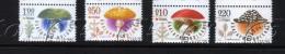 2014 MUSHROOMS / Champignons Set Of 4v-used/oblitere (O) Bulgaria / Bulgarie - Usati