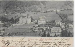 AK 0903  Badgastein - Kaiserhof U. Kaiserpromenade / Verlag Römmler & Jonas Um 1902 - Salzburg Stadt