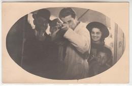 GIOSTRA LUNA PARK TIRO A SEGNO SHOOTING STAND TIR A LA CARABINE - FOTO ORIGINALE 1940/50 - Anonymous Persons