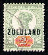 ZULULAND 1888 - From Set Used - Zululand (1888-1902)