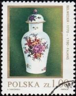 POLAND - Scott #2443 Kwan Vase (*) / Used Stamp - 1944-.... Republic