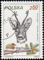 POLAND - Scott #2453 Elk (*) / Used Stamp - Stamps
