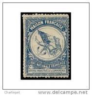 France WWI Maison Francaise Guarantee Stamp  Military Heritage Poster Stamp - Military Heritage