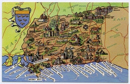 MAP : ENGLAND - WEST SUSSEX - Maps