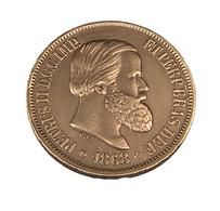 20 Reis - Brésil - Petrus II - 1868 - TTB + - Bronze - - Brasil