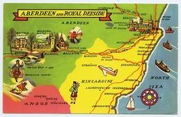 MAP : SCOTLAND - ABERDEEN AND ROYAL DEESIDE - Maps