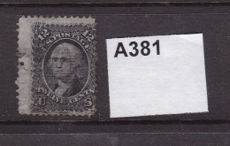 USA 1867 12c With Grill - Oblitérés