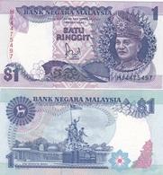 Malaysia - 1 Ringgit 1989 AUNC Pick 27b Ukr-OP - Malaysia