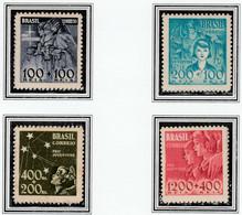 Pró-Juventude - RHM C146-149 - 1939 - Unused - Unused Stamps