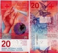 SWITZERLAND       20 Francs       P-76       (20)15       UNC  [sign. Studer-Danthine] - Suiza