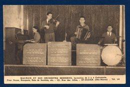 52. Saint-Dizier. Maurice Et Son Orchestre Moderne Pour Noces, Banquets, Bals De Sociétés. - Saint Dizier