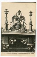 CPA 25 Abbaye De Montbenoit - Fronton D' Une Stalle - France