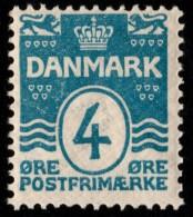 ~~~ Denmark 1905 - Coat Of Arms Perf 12.75 - Mi. 45 A ** MHN OG  - CV 5.50 € ++ ~~~ - 1905-12 (Frederik VIII)