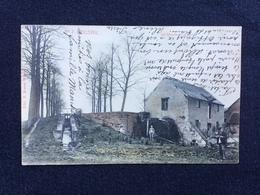 GENAPPE -BOUSVAL Nº 7 «MOULIN DE LA MOTTE «Panorama,couleur,animée (Édit E.Miesse Wautié)M.MARCOVICI. - Genappe