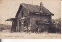BERTHECOURT- La GARE - Francia