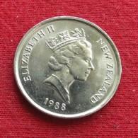 New Zealand 5 Cents 1988 KM# 60 Nova Zelandia Nuova Zelanda Nouvelle Zelande - Nouvelle-Zélande