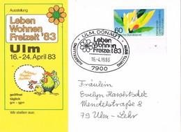 28535. Tarjeta ULM DONAU (Alemania Federal) 1983. Ocio En Vivo. Leben Wohnen Freizeit - [7] República Federal
