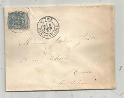 Lettre, 1897 , VITRE , Ile Et Vilaine - Storia Postale