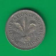 ONE SHILLING  1959  (PRIX FIXE)  (CH9) - Nigeria
