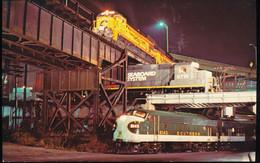 Three Level Crossing Richmond , Virginia - Trains