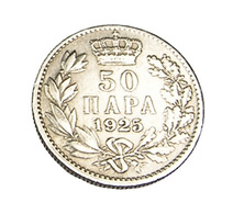 50 Para - Yugoslavie - 1925 - Ni.Bronze - TTB+ - - Yugoslavia