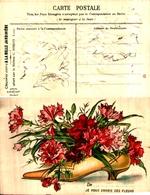 Publicité A La Belle Jardinière, C Beriot Lille - Fleurs Dans Chaussure - Advertising
