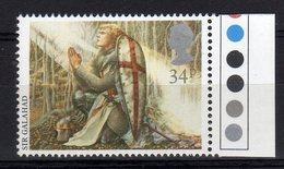 Gb 1985 Contes, Fables & Légendes Le Roi Arthur Sir Galahad Stamp Mint - Fiabe, Racconti Popolari & Leggende