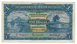 Trinidad & Tobago 1 Dollar 1939, Crisp VF. - Trinidad & Tobago