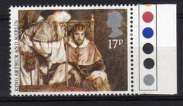 Gb 1985 Contes, Fables & Légendes King Arthur And Merlin Stamp Mint Re Artù E Mago Merlino - Fiabe, Racconti Popolari & Leggende