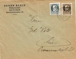 28540. Carta MUNCHEN (Bayern) 1919, Correo Interior - Bavaria
